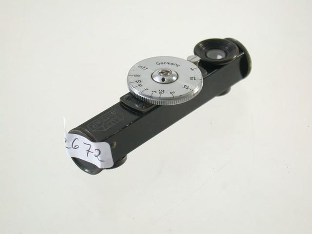 Leica Entfernungsmesser Fokos : Leica fokos black chrome meter rangefinder entfernungsmesser 17 ebay