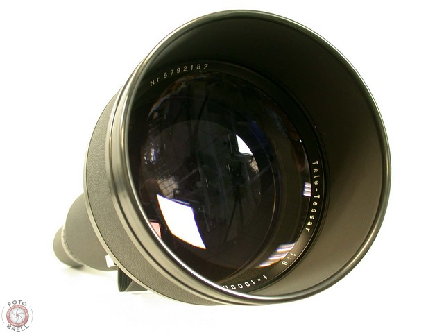 TELE-TESSAR 8/1000 1000mm F8 CARL ZEISS ROLLEI<br>6000 SYSTEM 6008 6006 PQ TOP
