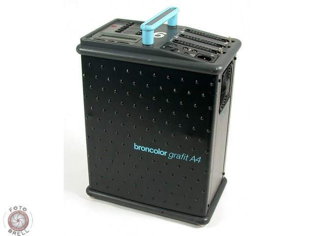 Bron broncolor graphite a4 a 4 blitz g n rateur studio for Blitzgenerator selbstbau