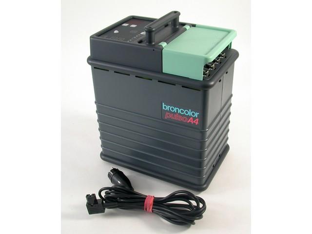 Broncolor bron pulso a 4 a4 generator blitz flash studio for Blitzgenerator selbstbau