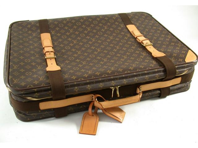 lv louis vuitton koffer suitcase kanvas leather leder 70 x 50 x 18 original top ebay. Black Bedroom Furniture Sets. Home Design Ideas