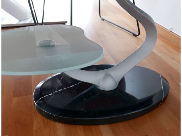 Marble table tray glass 110x60 table coffee table living for Wohnzimmer marmortisch