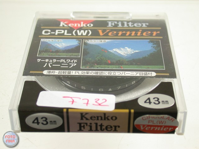 Kenko Polfilter Filter Polarizing Polarizer Circular Summilux 50 43 43mm f732