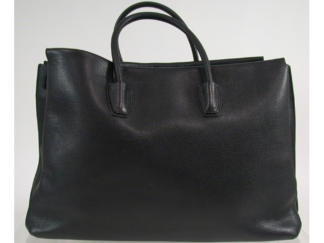 original mcm milla tasche handtasche bag tote extra large black schwarz 7 ebay. Black Bedroom Furniture Sets. Home Design Ideas